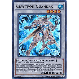 Crystron Quandax - INOV-EN044 - Ultra Rare Unlimited