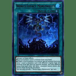 World Legacy Monstrosity - DANE-EN059 - Ultra Rare 1st Edition