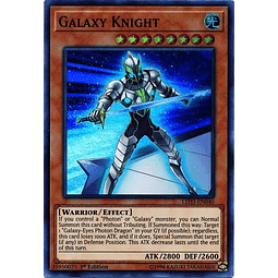 Galaxy Knight - LED3-EN040 - Super Rare 1st Edition