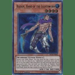 Raiden, Hand of the Lightsworn - BLLR-EN042 - Ultra Rare 1st Edition