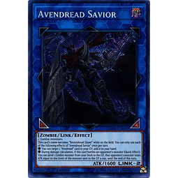 Avendread Savior - BLHR-EN045 - Secret Rare 1st Edition