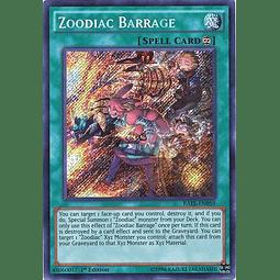 Zoodiac Barrage - RATE-EN059 - Secret Rare 1st Edition