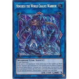 Ningirsu the World Chalice Warrior - COTD-EN050 - Secret Rare 1st Edition