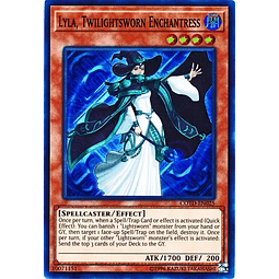 Lyla, Twilightsworn Enchantress - COTD-EN025 - Super Rare Unlimited
