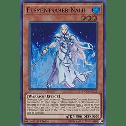Elementsaber Nalu - FLOD-EN021 - Super Rare 1st Edition