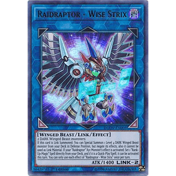 Raidraptor - Wise Strix - DUOV-EN005 - Ultra Rare 1st Edition
