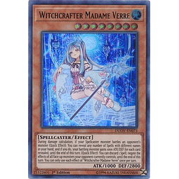Witchcrafter Madame Verre - DUOV-EN073 - Ultra Rare 1st Edition