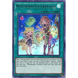 Witchcrafter Creation - DUOV-EN096 - Ultra Rare 1st Edition
