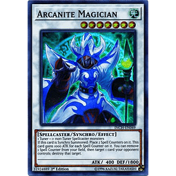 Arcanite Magician - INCH-EN049 - Super Rare 1st Edition