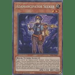 Adamancipator Seeker - SESL-EN001 - Secret Rare 1st Edition