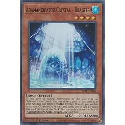 Adamancipator Crystal - Dragite - SESL-EN006 - Super Rare 1st Edition