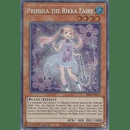 Primula the Rikka Fairy - SESL-EN015 - Secret Rare 1st Edition