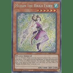 Mudan the Rikka Fairy - SESL-EN017 - Secret Rare 1st Edition