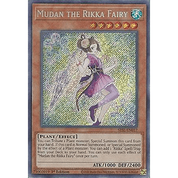 Mudan the Rikka Fairy - SESL-EN017 - Secret Rare 1st Edition