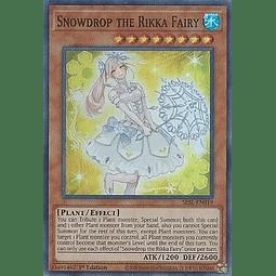 Snowdrop the Rikka Fairy - SESL-EN019 - Super Rare 1st Edition