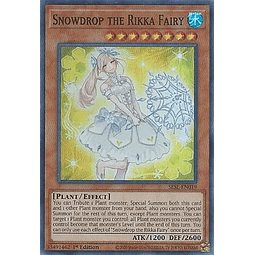 Snowdrop the Rikka Fairy - SESL-EN019 - Super Rare 1st Edition