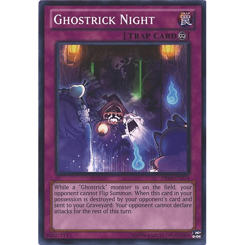 Ghostrick Night -prio-en074- Common Unlimited