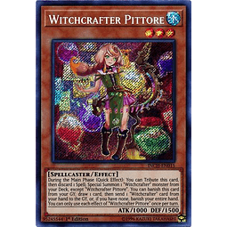 Witchcrafter Pittore - INCH-EN015 - Secret Rare 1st Edition