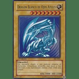Dragon Blanco de Ojos Azules - BIK-S001 Ultra Rare 1st Edition