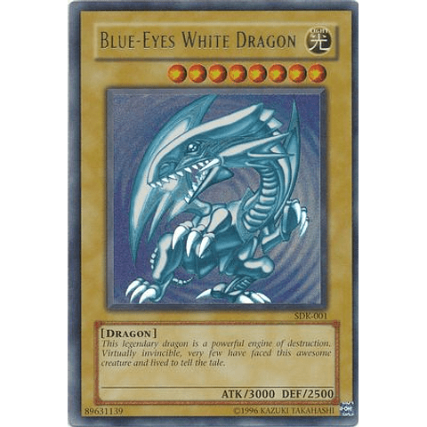 Blue-Eyes White Dragon - SDK-001 - Ultra Rare Unlimited