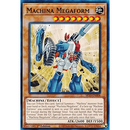 Machina Megaform - SR10-EN008 - Common 1st Edition