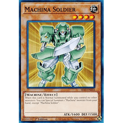 Machina Soldier - SR10-EN010 - Common 1st Edition