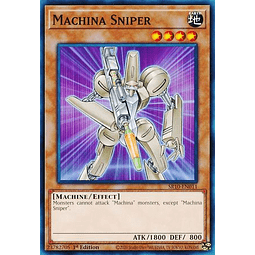 Machina Sniper - SR10-EN011 - Common 1st Edition