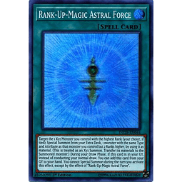 Rank-Up-Magic Astral Force - INCH-EN044 - Super Rare 1st Edition