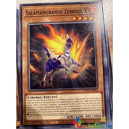 Salamangreat Zebroid X - ETCO-EN003 - Common 1st Edition