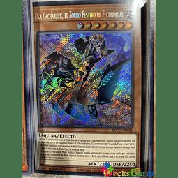 Gizmek Uka, the Festive Fox of Fecundity - ETCO-EN031 - Secret Rare 1st Edition