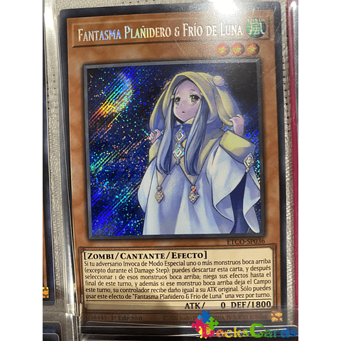 Ghost Mourner & Moonlit Chill - ETCO-EN036 - Secret Rare 1st Edition