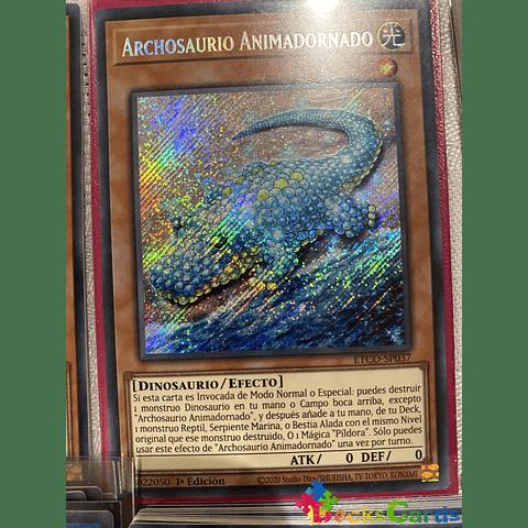 Animadorned Archosaur - ETCO-EN037 - Secret Rare 1st Edition