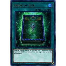 Book of Life - SBSC-EN013 - Ultra Rare 1st Edition
