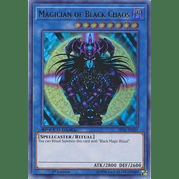 Magician of Black Chaos - SBTK-EN001 - Ultra Rare 1st Edition