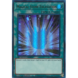 Magical Stone Excavation - SS05-ENV02 - Ultra Rare 1st Edition