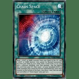 Chaos Space - TOCH-EN009 - Super Rare 1st Edition