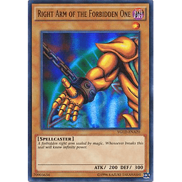 Right Arm of the Forbidden One - YGLD-ENA20 - Ultra Rare Unlimited