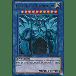 Obelisk the Tormentor - YGLD-ENG02 - Ultra Rare Limited Edition