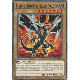 Malefic Red-Eyes B. Dragon - LDS1-EN006 - Common 1st Edition