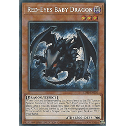 Red-Eyes Baby Dragon - LDS1-EN010 - Secret Rare 1st Edition
