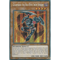 Gearfried the Red-Eyes Iron Knight - LDS1-EN011 - Secret Rare 1st Edition