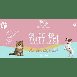 Puff Pet Pompas de Jabón