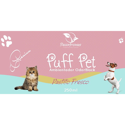Puff Pet Pastito Fresco