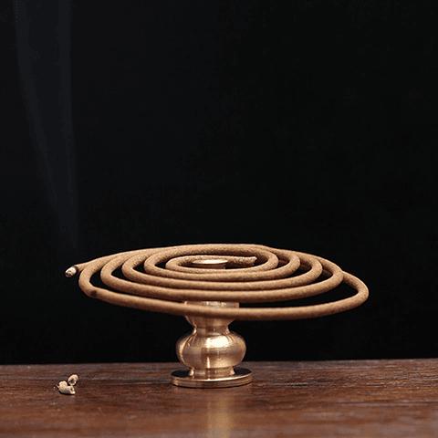Soporte Incienso Espiral