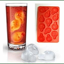 """Cubos de hielo y Moldes de chocolate """"Del grito"""""""