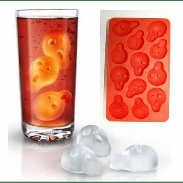"""Cubos de hielo y Moldes de chocolate """"El Grito"""""""