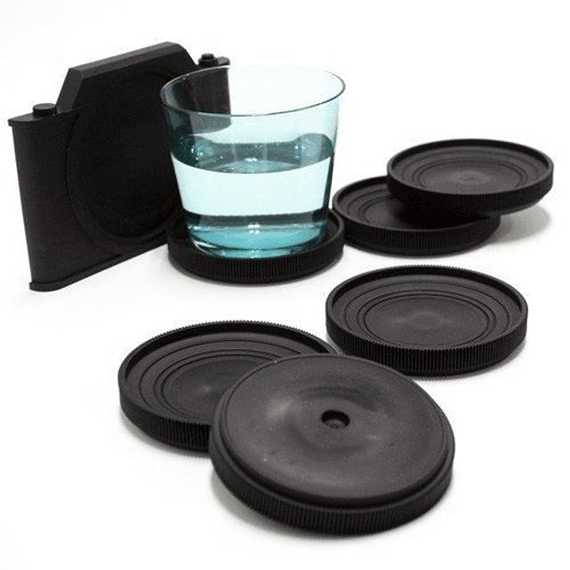 Posavasos Cámara cámara Fotográfica ( Set 7 unidades )