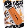Destapador de Botellas con Lanzador de Tapas