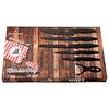 Cuchillos de acero inoxidable + Pelador cerámico ( Set 6 unidades )