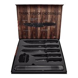 Cuchillos de acero inoxidable ( Set 7 unidades )